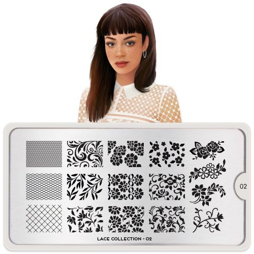 MoYou LONDON STAMPING PLATE - LACE 02